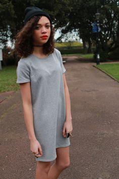 Charnelle Geraldine looking fresh in our Billie Lurex Sweat Dress #fashion #style #bloggers #dress #sportsluxe