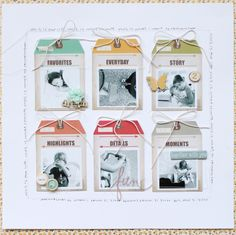 ** Chic Tags- delightful paper tag **: This is our life...