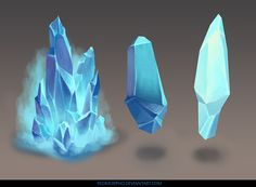 crystals by RedMorpho