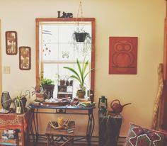 boho living room décor inspiration