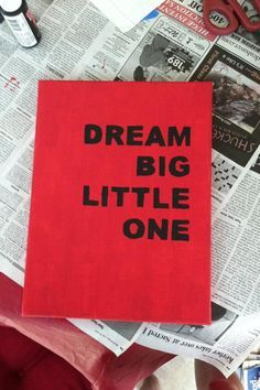 Easy Sorority Crafts | Big/Little | Dream big little one!