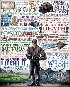 Have fun storming the castle...  Princess Bride print by Chet Phillips