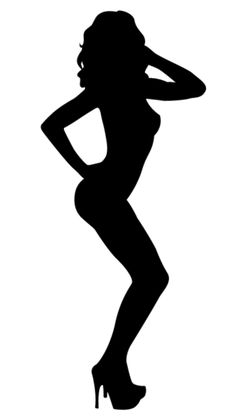 Silhouette Clip Art, Girl Silhouette, Sexy Drawings, Art Drawings, Learn To Sketch, The Mind's Eye, Scroll Saw Patterns Free, Posing Guide, Erotic Art