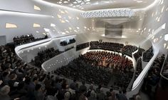 Beethoven Concert Hall in Bonn, Germany by Zaha Hadid Architects
