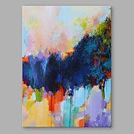 Handgeschilderde+Abstract+Verticaal,Modern+Eén+paneel+Canvas+Hang-geschilderd+olieverfschilderij+For+Huisdecoratie+–+EUR+€+138.72