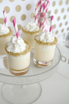 salted caramel ice cream cake shots
