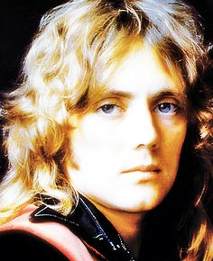 Early photo of a young musician with hopes & dreams: Roger Taylor of Queen...