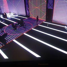 Progress in projectors tests in Mediaset Studio 6 for sport programs. (2016)