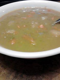 """Split Pea Soup! """"My version of split pea soup. ~ :) so yummy"""" @ ..."""