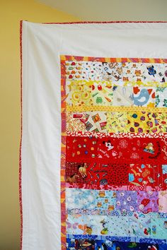 Easy I spy quilt  Going Back to the Source - crafterhours