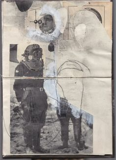 Lars Henkel: Sketchbook collages