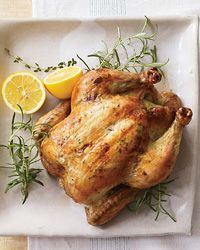 Herb-and-Lemon-Roasted Chicken - Roast Chicken from Food & Wine