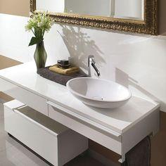 bathroom vessel on a bench - Google Search