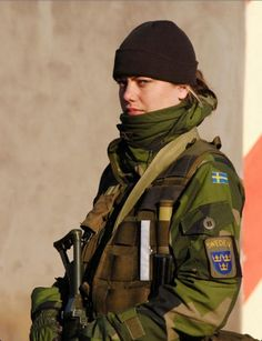 Swedish Female Soldiers