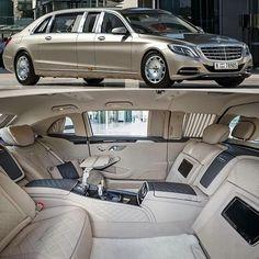 Mercedes Classe S limousine color champagne 🇩🇪🇩🇪 Pullman Mercedes, Mercedes Benz Maybach, Mercedes Benz Cars, Limousine Car, Automobile, Supercars, New Luxury Cars, Classic Mercedes, Sexy Cars