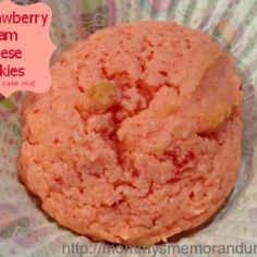 Strawberry Cheese Cake Cookies recipe