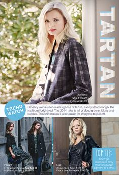 Tartan, try it, love it.