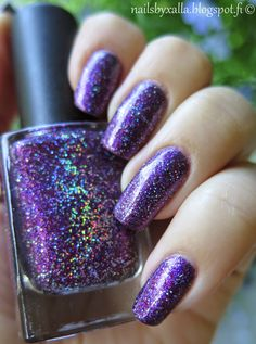 Nails by Xalla: Color Club - Gift Of Sparkle, gorgeous hologram glitter nail polish
