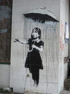 "Claiming to have no interest in being famous, Banksy said: ""We don't need any more heroes; we just need someone to take out the recycling."""