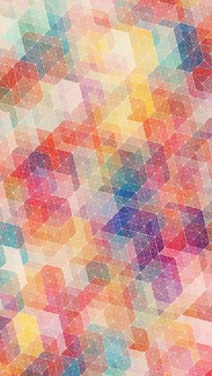 Bon motif/texture, couleurs multiples mais qui créent une belle harmonie. intéressant à regarder.