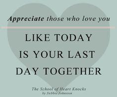 A secret from my book The School of Heart Knocks!! www.DebbieJohnston.com