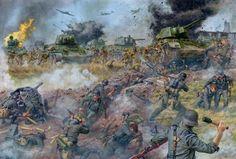 Bagramyan's breakthrough, Kursk, 13July 1943
