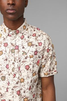Stussy Classic Batik Button-Down Shirt