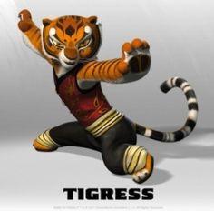 kung fu panda master tigress costume - Kung Fu Panda Halloween