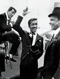 The Rat Pack | Dean Martin, Sammy Davis Jr., and Frank Sinatra, 1955