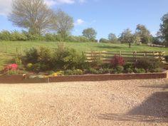 Long border at Green End Farm