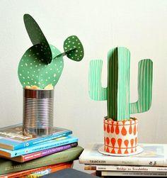 Henrietta and Clementine: Paper Cactus