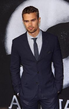 "The perfect Hayden Bennett for ""Virtually Impossible"". Theo James"