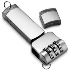 Lock for USB Flash Drives - Hang on to that data