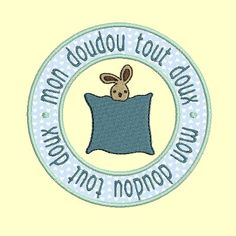 Motif broderie machine macaron rond doudou Macaron, Applique, Embroidery Designs Free, Machine Embroidery, Bags, Quotation, Humor