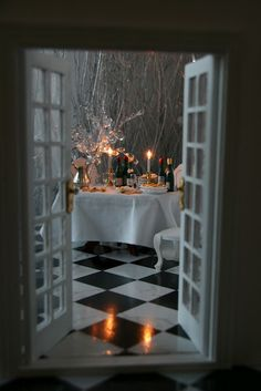 Candlelight Dining Room