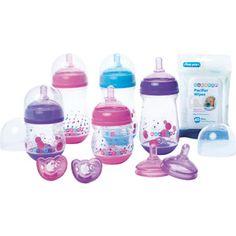 GumDrop GentleVent Baby Bottle Starter Set, BPA-Free ...wish i would have had these!