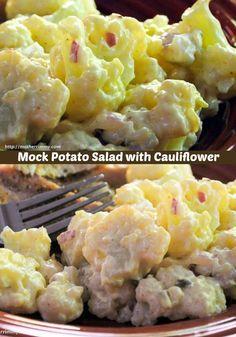 Mock Potato Salad with Cauliflower