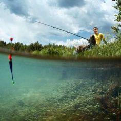 Zander angeln mit Köderfisch und Pose | Simfisch.de - Angeln und Outdoor! Golf Courses, British, Outdoor, Fishing, Fishing Pictures, Funny Animal Pics, River, People, Outdoors