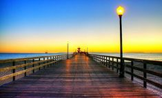 1. This perfectly romantic shot was taken at Seal Beach. The beauty of the many Southern California piers are hard to resist.