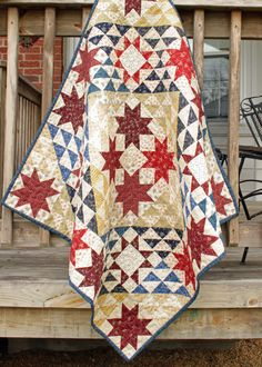 Civil War Quilt Wallhanging Quilt Lap by QuiltingByJacqueline