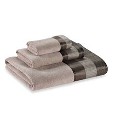 product image for Metallic Stripe Bath Towel