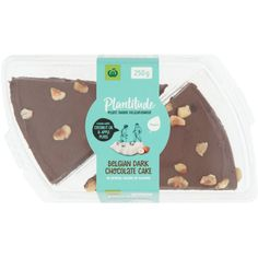 4.59 stars, 30 reviews for Woolworths Plantitude Vegan Belgian Dark Chocolate Cake 250g on Bunch.