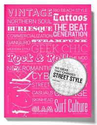 100  ideas that changed street style. From Hipster to Goth, this book covers all themes relating to fashion and culture. Check it out!