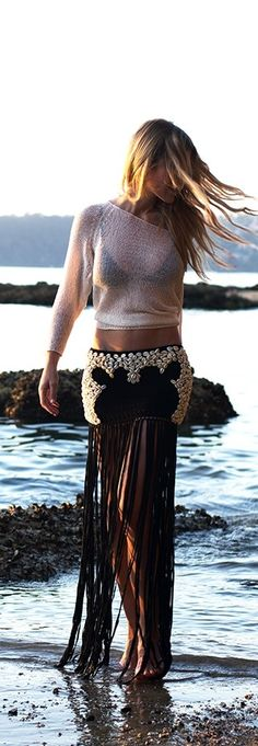 Love the transparent top - sexy look to try Hippie Bohemio c545309c6c1
