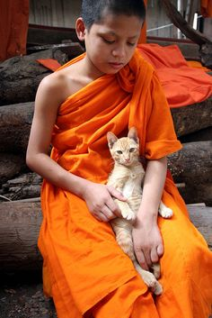 t-a-h-i-t-i:  Monk, Laos by viiny