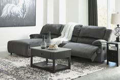 Modern Sectional Living Room Couch Set Gray Fabric Reclining Sofa Chaise - Sofa Living - ideas of Sofa Living - Modern Sectional Living Room Couch Set Gray Fabric Reclining Sofa Chaise Price : Living Room Sectional, Modern Sectional, Living Room Furniture, Living Room Decor, Small Sectional Sofa, Modern Recliner, Plywood Furniture, Furniture Design, Chair Design