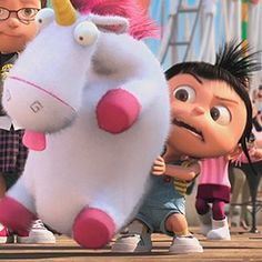 IT'S SO FLUFFY! Favorite part of the movie dispicable me!!