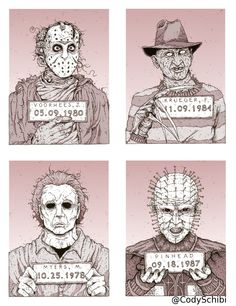 114 Best Horror Movie Characters Images Horror Films Horror