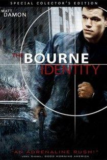 A Identidade Bourne (The Bourne Identity) - Poster / Capa / Cartaz