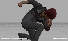 Infamous Second Son and First Light Animation Reel